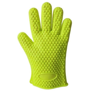 Silicone 2pcs/pair Heat Resistant Kitchen Gloves