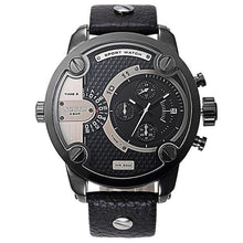 Men's Luxury Brand Fashion Sport Water Resistant Stainless Steel Wristwatch