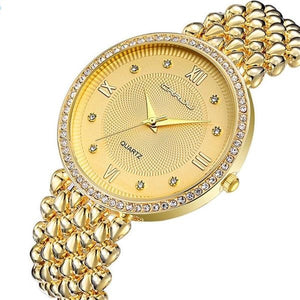 Women's Ultra Thin Stainless Steel Casual Quartz Watch