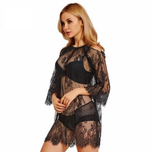 Women's Beach Cover up Lace Cardigan Beach Tunic Beach Sarongs Swimsuit