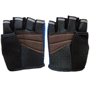 Workout Half Finger Sports-Gym Gloves for Men & Women