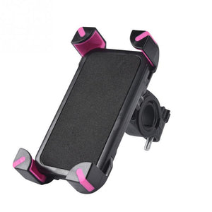 Bicycle Bike Universal Anti-Slip 360 Rotating Phone Holder Handlebar Clip Stand Mount Bracket For Smart Mobile Cellphone