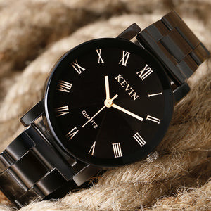 Women's New Arrival High Quality Fashion Black Quartz  Wristwatch Relogio Masculino