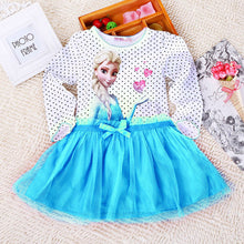 Baby Girl Summer Princess Vestidos Fever 2 Anna Elsa Dress