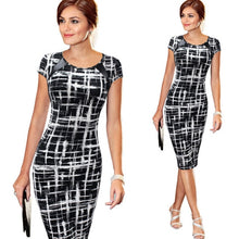 Women's  Elegant Business Casual Party Stretch Sleeveless Bodycon Dress