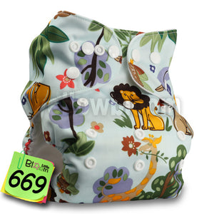 Baby Nappy One Size, Washable, Reusable Pocket Diaper