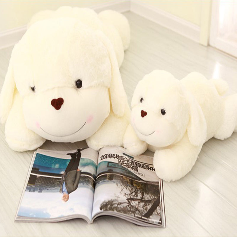 Unisex Kawaii Stuffed 30cm Dog Plush Toys 100% PP Cotton Plush Pillow for Car Decoration Soft Toys for Children Birthday Gift