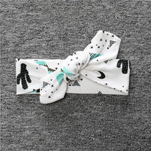 New Arrival Baby Band Scarf Headband - Girl Children Rabbit Ear Headband Cat Cheer Bows Turban Head Wrap Headband