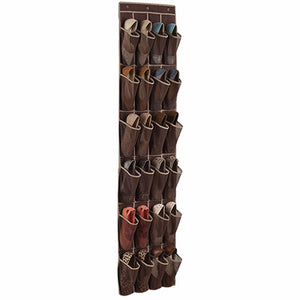 24 Pocket Hanging Shoes Organizer