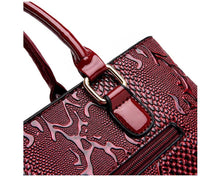 Women's New Fashion High Quality PU Leather Luxury Snake Shoulder Designer Handbags Spring Ladies Tote Bag