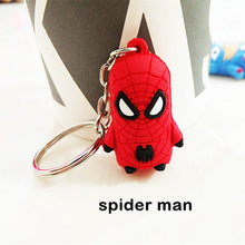 Unisex Key Chain - 3D Spider Man Captain America Batman Iron Man Superman