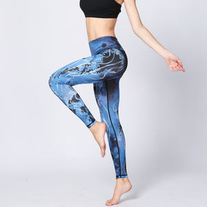 Women's New Compression Running Tights Fitness Sports Yoga Pants Leggings