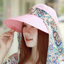 Women's Summer Beach Sun Visor Hat