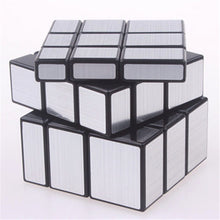 Children Professional Learning Education Toys Original Magic Speed Mirror Cube Sticker Block Puzzle Cast Coated Cubo Magico