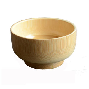 Natural wooden bowl japanese wooden bamboo bowls for food for Baby 10*6cm