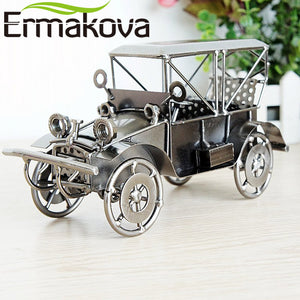 "20cm (7.8"") Metal Retro, Vintage, Classic Car Model, Vehicle Figurine, Boy Toy, Gift Home Decor"