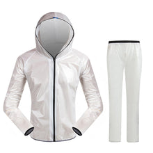 Unisex Portable Fashion Ultra-Thin Outdoor Camping Fishing Breathable Raincoat Suit