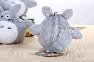 "Unisex My Neighbor Totoro Cat Buss Mini Plush Toys Soft Stuffed Dolls 4"" 10cm"