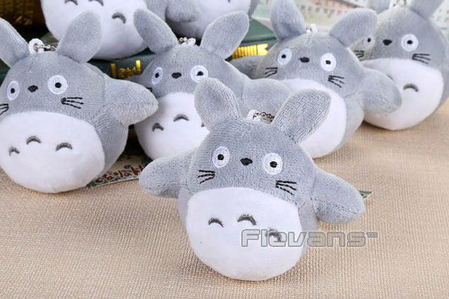 Unisex My Neighbor Totoro Cat Buss Mini Plush Toys Soft Stuffed Dolls 4