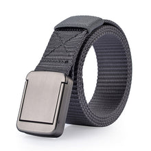 Unisex Military Equipment Tactical Metal Buckle Thicken Canvas Belt Waistband