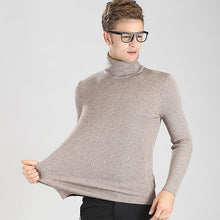 Youth Fashion Turtleneck Knitted Sweater