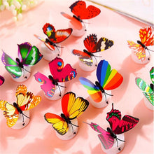 LED 3D Butterfly Wall Lights - 10/5/1 Pieces Home Décor