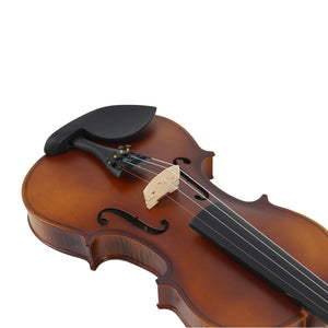 TONGLING Matte Finish Solid Wood Violin 4/4 3/4 1/4 1/8 Craft Stripe Violino for Kids Students Beginner w/ Case Mute Bow Strings