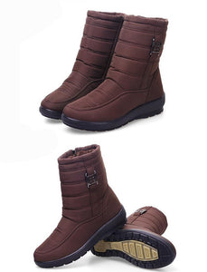 Women's Winter Casual Plus Size Warm Non Slip Waterproof Boots
