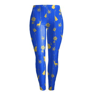 Women's Fashion Skinny Christmas Printed Stretchy Pants Leggings