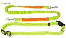 Pet's Reflective Strip Hands Free Outdoor Running Leashes