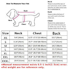 Pet's Winter Warm Windproof Reversible Reflective Coat S-2XL