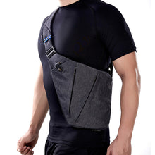 Men's Waterproof Nylon Compact Single Shoulder Bags