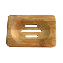 Portable Soap Tray Holder Natural Bamboo Wooden Soaps Dish Box Case Container Wash Shower Storage Stand Home Bathroom Tool