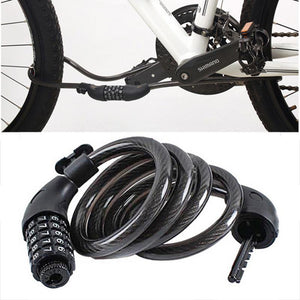5 Digit Code Combination Bike Bicycle Security Lock