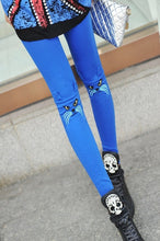 Women's New Fashion Kitten Embroidery Leggings Fall & Winter Cotton trousers Pants