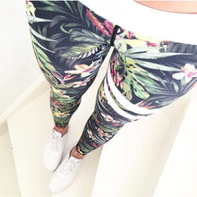 Women's New Sexy Print Fitness Workout High Waist Leggings