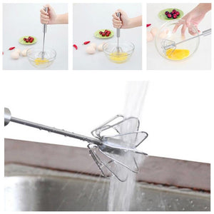 Self Turning Easy Push Whisk