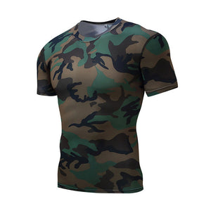 Men's Fitness Compression 3D T Shirt