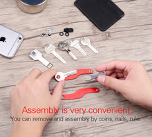 Unisex Smart Key Holder Organizer Key Wallet