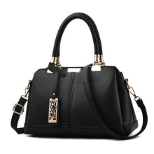 Women's New Fashion Leather Vintage Casual Tote Messenger Shoulder Student Handbag Purse Wallet