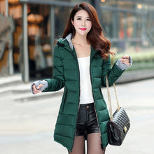 Women's Winter High Quality Warm Thicken   Long Hooded Jacket Coat Outwear