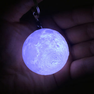 Moon Lamp Mini 3D Keychain