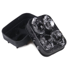 Reusable Skull Head Ice Cream Cube Mold Maker