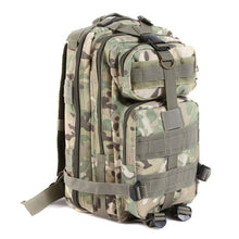 UNISEX Outdoor Hiking 30L Camping Bag Army Military Tactical Climbing Trekking Storage Rucksack Backpack Camo Molle Pack