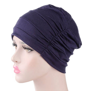 Women's New Cotton Cap for Cancer Hair Loss Sleeping Cap Chemotherapy Hat