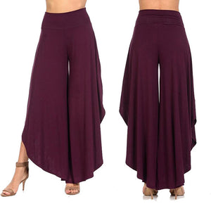 Women's New Yoga High Waist Solid Loose Sport Fitness Casual Workout Leggings Pants