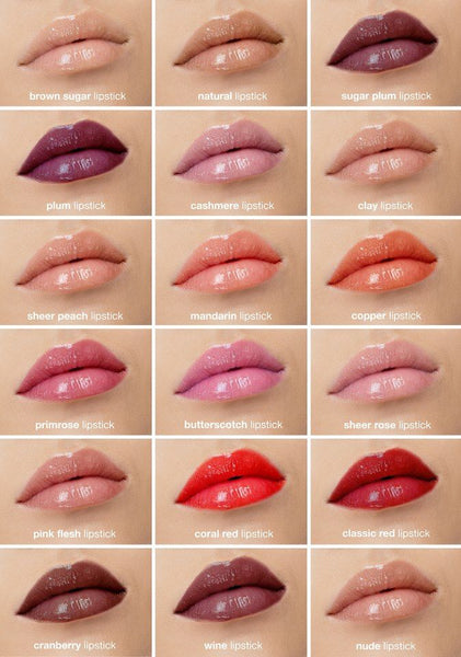 Certified Organic Flora Lipstick - Samples