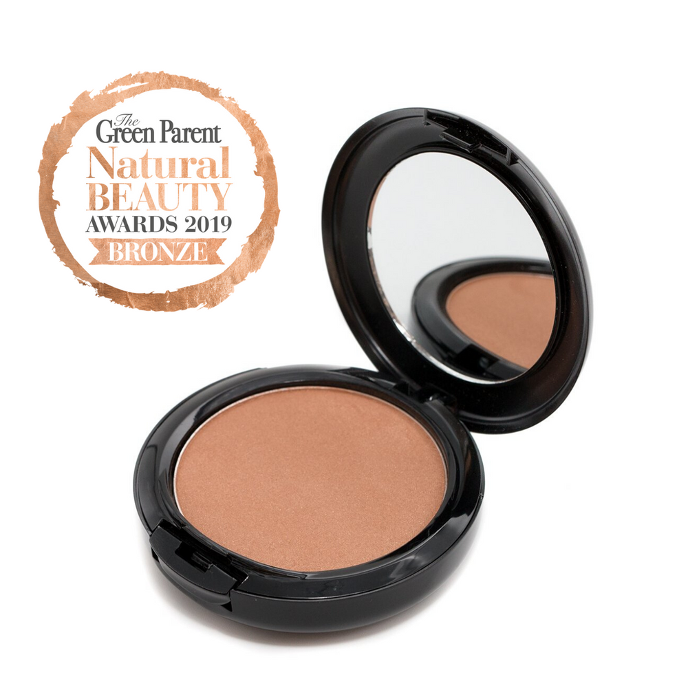 Load image into Gallery viewer, Certified Organic Flora Powder Shimmer Bronzer
