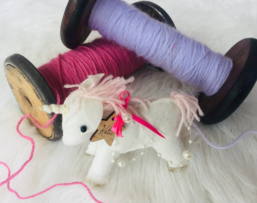 Unicorn felt friend