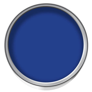 Blue ready mix paint